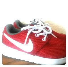 Nike shoes Toddler size. My son only wores these twice and grew out of them. Shoes Sneakers