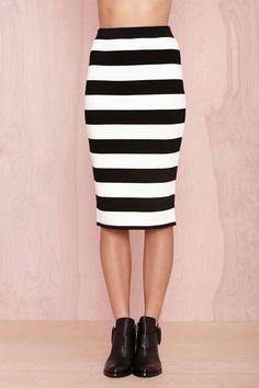 Line Drive Skirt | Shop Sale at Nasty Gal
