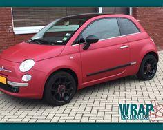Fiat 500 barwrap door Wrap Destination Hoofddorp
