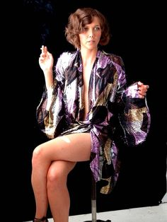 More asian silk robes & Maggie Gyllenhaal