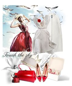 """Touch the sky"" by miiilica ❤ liked on Polyvore"