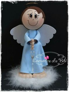 Fiesta Mary, Scrapbook, Ideas, Happy Mothers, Biscuit, Christmas Crafts, Angeles, How To Make Crafts, Angels And Fairies