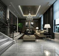 carrelage polis, carrelage poli brillant immitant marbre gris