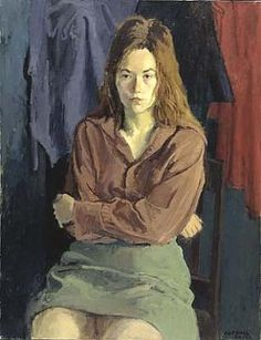 Rosemary in Thought by Raphael Soyer / American Art