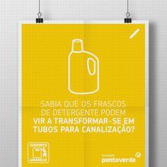 Com a reciclagem de objetos do nosso dia a dia, conseguimos obter resultados líquidos: sabia, por exemplo, que os frascos de detergente de roupa podem transformar-se em tubos para canalização?