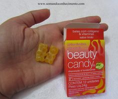 Beauty Candy, balas com colágeno ! | Somando Conhecimento