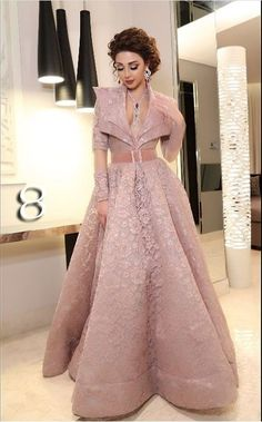 Buy Crop Top and Skirt Wedding Dress Stylish Dresses, Elegant Dresses, Beautiful Dresses, Nice Dresses, Fashion Dresses, Indian Wedding Gowns, Indian Gowns Dresses, Indian Designer Outfits, Designer Gowns