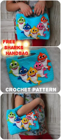 You are in the right place about harry potter crochet patterns Here we offer you the most beautiful pictures about the crochet patterns clothes you are looking for. Crochet Gratis, Crochet Toys, Free Crochet, Crochet Baby, Half Double Crochet, Single Crochet, Flower Bag, Hai, Crochet Purses