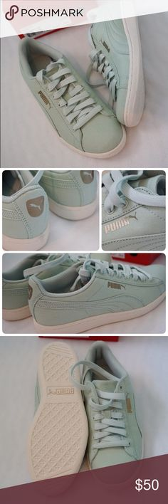 LISTING WOMEN PUMA VIKKY CV SIZE 7 -BRAND NEW IN BOX  -SIZE: 7 WOMEN -COLOR: GREEN LILY -MADE IN CHINA  -INCLUDE ORIGINAL BOX WHEN SHIP       ⭐️TOP RATED SELLER FAST SHIPPER NEXT DAY SHIPPING ❌NO TRADE ❌NO PAYPAL ✅BUNDLE OFFER Puma Shoes Sneakers