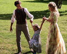 #Cinderella and her parents.