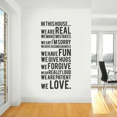 wall sayings