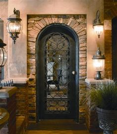 Scardino Doors crafts and installs custom wrought iron doors for the South Eastu0027s most beautiful homes. & Coto Style Custom Wine Cellar Doors | Wine Cellars by Coastal ... pezcame.com