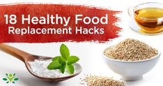 18 Food Swaps for a Healthier Pantry Swap your unhealthy pantry ingredients with these 18 simple hacks for healthier eating, plus an almond milk recipe! Almond Milk Recipes, Peanut Butter Recipes, Healthy Sugar Alternatives, Healthy Recipes, Homemade Popcorn Seasoning, Vegan Egg Substitute, Bath Bomb Recipes, Food Swap, Cleanse Diet