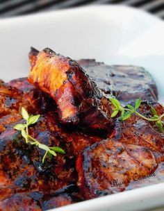 Marinade for grilled pork chops, soy and lemon – Dinner Recipes Top Recipes, Baby Food Recipes, Meat Recipes, Chicken Recipes, Cooking Recipes, Healthy Recipes, Bbq Marinade, Bbq Salads, Bbq Steak