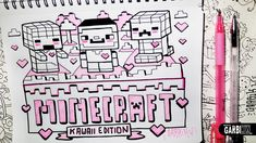 Minecraft ♥ Kawaii Edition ♥ Hello Doodles ♥ Easy Drawings by Garbi KW