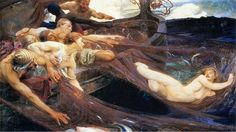 "Herbert James Draper, ""The Sea Maiden"""