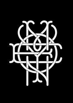 Image result for 4 letter monogram