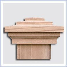 Mission Style Fence Post Top Beachwalk Post Cap Redwood Beachwalk Cap Fenc Beachwalk Cap Fenc Fence Mission P In 2020 Post Cap Fence Post Fence Post Caps