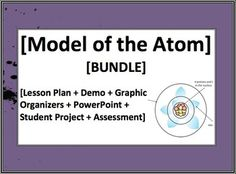 Project-based learning! This bundled unit takes students through the model of the atom as it has changed over the centuries.  PPT, lesson plan, graphic organizers, and more!