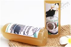 "Bath & Body Shower Gel ""Coconut & Vanilla"" with Sweet Almond Oli Protein and Panthenol"
