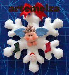 artemelza - anjo no floco de neve