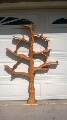 Tree Shaped Bookshelf by LandersWoodworking on Etsy, $475.00