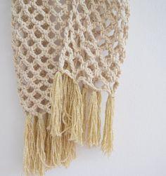 Haakpatroon eenvoudige sjaal, lees verder op haakinformatie