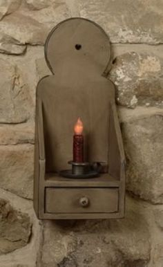 PRIMITIVE-WOOD-BUTTON-SCONCE-W-DRAWER