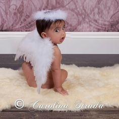 Angel Wings & Halo from The Couture Baby