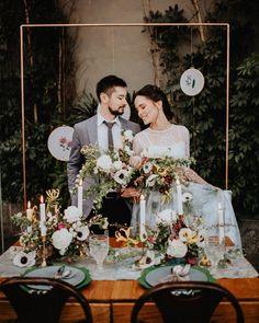 Artistic Botanical Wedding Inspiration