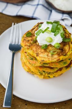 Recipe: Savory Carrot & Zucchini Pancakes — Recipes from the Kitchn