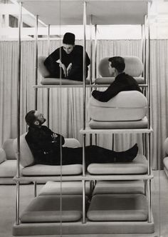 LOVE: A Few Picks From D's Files This designed Multi-Level Lounger is the work of the late and great Verner Panton.This designed Multi-Level Lounger is the work of the late and great Verner Panton. Design Furniture, Unique Furniture, Luxury Furniture, Street Furniture, Outdoor Furniture, Furniture Ideas, Cheap Furniture, Modular Furniture, Furniture Stores