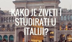Kako je živeti i studirati u Italiji? INFOGRAFIK