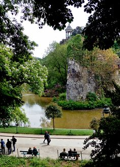 parc des buttes chaumont, paris Walked through this beautiful park on our last day. have to go back and see it in summer!