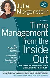 Time Management from the Inside Out: The Foolproof System for Taking Control of Your Schedule—and Your Life by Julie Morgenstern – A great book on how to organize your life and your schedule. Where organization meets career and productivity. #organizeyourlife #productivity #timemanagement Management Books, Time Management Tips, Declutter Books, Book Organization, Organizing Books, Organizing Life, Inside Out, So Little Time, Reading Lists