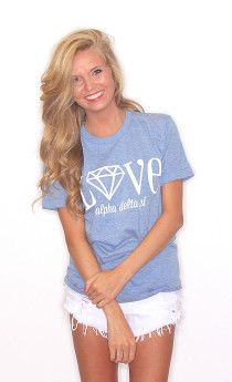 @Alpha Delta Pi New Greek Apparel at @Riffraff !!