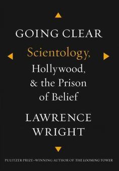 READ: Going Clear: Scientology, Hollywood, and the Prison of Belief, Lawrence Wright. A book I've been meaning to read. A recent trip to LA, staying in Hollywood reminded me of this. Absurd and disturbing and deep all at once. A good summer nonfiction. Exhaustively detailed.