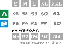 Tabela rozmiarów - Kurka Wodna