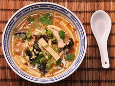 How to make awesome hot & sour soup at home #recipe