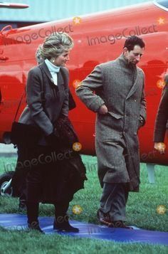 1 Mar 1990 Charles and Diana in Wales to visit those affected by terrible floods that left many people I temporary shelter Credit Alpha/Globe Photos, Inc.