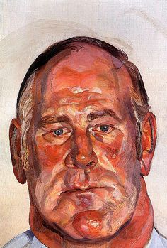 Lucian Freud_Head-Of-The-Big-Man by BoFransson, via Flickr