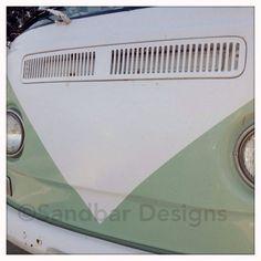 Diamond VW bus on Etsy, $8.00