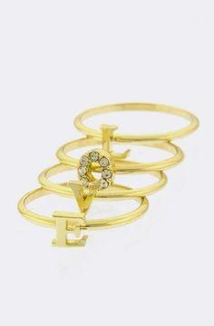 FabuLyss - Love Stack Midi Trio Rings, $19.00 (http://www.fabulyss.com/love-stack-midi-trio-rings/)