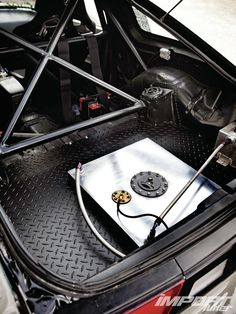 Gutted Hatch w/ Fuel Cell