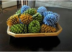Inspired Whims: Pine Cone Crafts