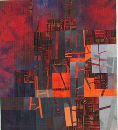 Manhattan Sunset, von Barbel Lehrke. /2009/05/bodensee-quiltfestival-lake-constance.html