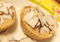 Tortinha gelada fit de pasta de amendoim e coco