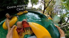 Caneva Aquapark Crazy River 360° VR POV Onride Vr, Outdoor Decor