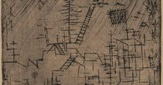 Paul Klee, Blüten in der Nacht (Blossoms in the Night), 1930 · SFMOMA