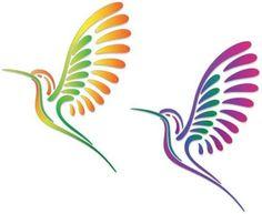 easy colibri drawing - Cerca con Google